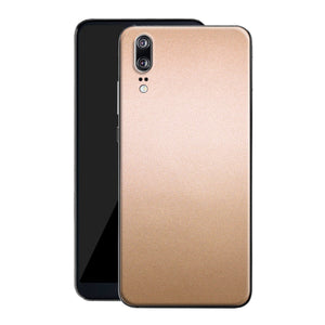 Huawei P20 Luxuria Rose Gold Metallic Skin Wrap Decal Protector | EasySkinz