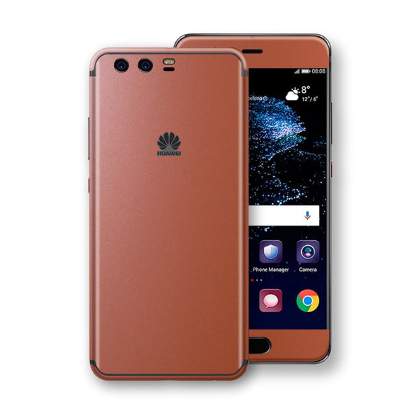 Huawei P10+ PLUS LITE Rose Gold Matt Metallic Skin, Decal, Wrap, Protector, Cover by EasySkinz | EasySkinz.com