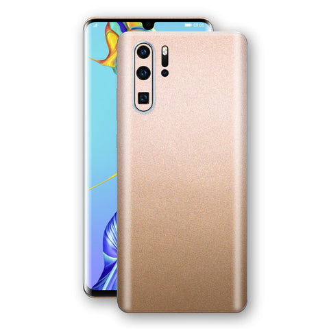 Huawei P30 PRO Luxuria Rose Gold Metallic Skin Wrap Decal Protector | EasySkinz