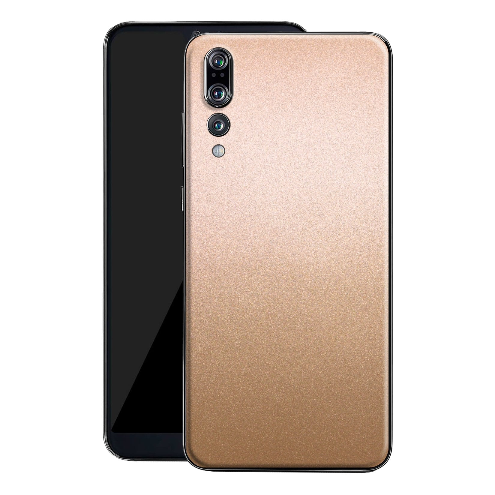 Huawei P20 PRO Luxuria Rose Gold Metallic Skin Wrap Decal Protector | EasySkinz