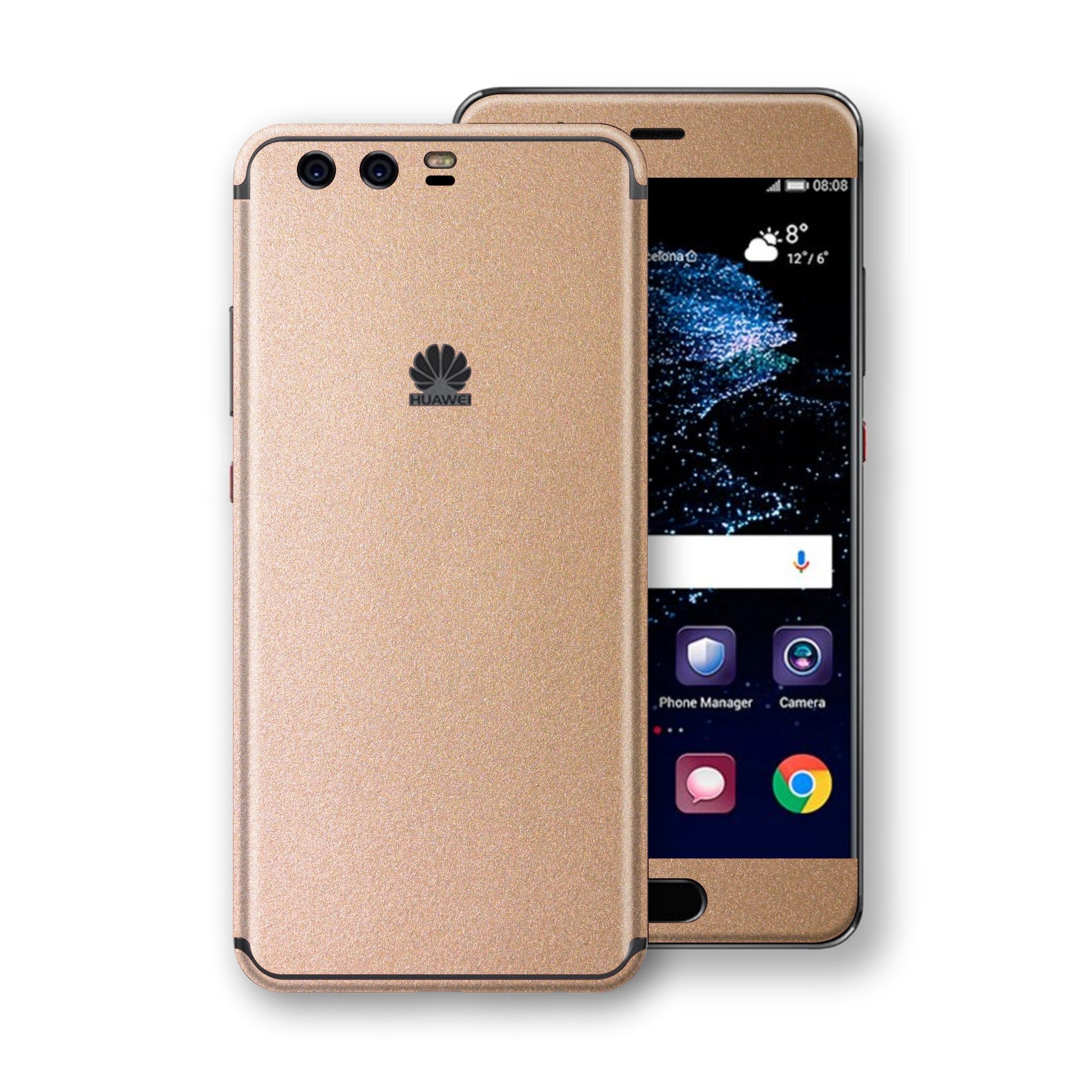 Huawei P10  Luxuria Rose Gold Metallic Skin Wrap Decal Protector | EasySkinz