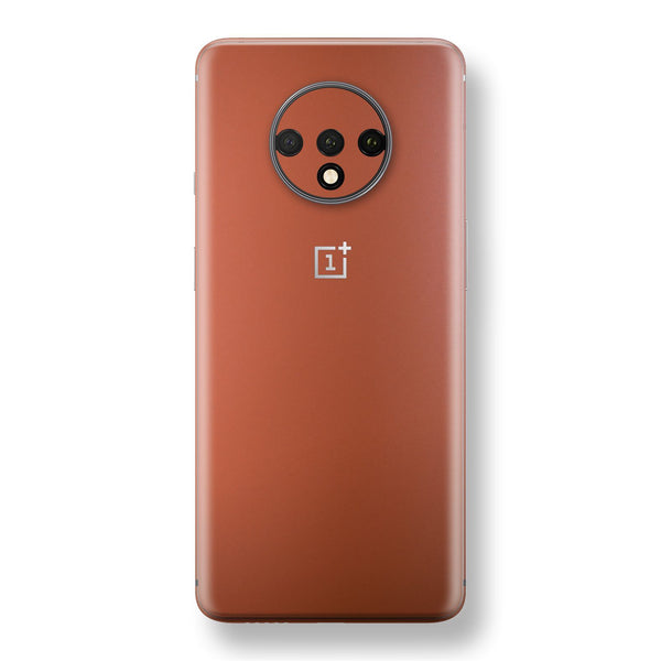 OnePlus 7T Rose Gold Matt Metallic Skin, Decal, Wrap, Protector, Cover by EasySkinz | EasySkinz.com