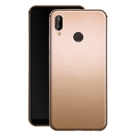 Huawei P20 LITE Luxuria Rose Gold Metallic Skin Wrap Decal Protector | EasySkinz