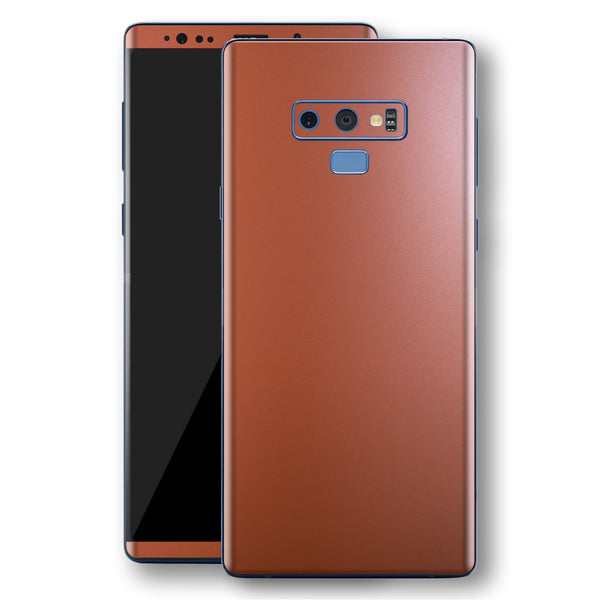 Samsung Galaxy NOTE 9 Rose Gold Matt Metallic Skin, Decal, Wrap, Protector, Cover by EasySkinz | EasySkinz.com