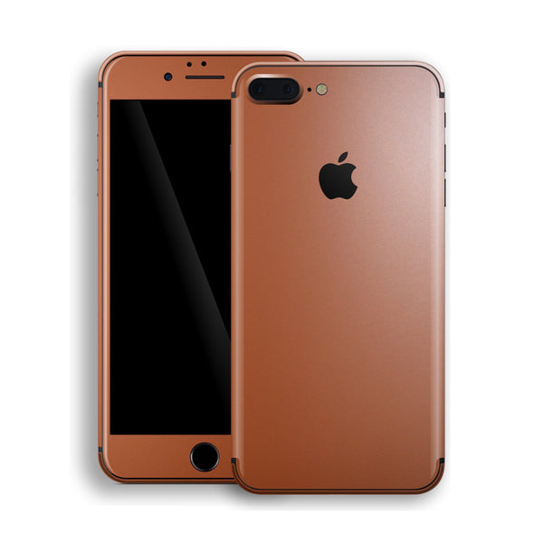 iPhone 8 Plus Rose Gold Matt Metallic Skin, Decal, Wrap, Protector, Cover by EasySkinz | EasySkinz.com