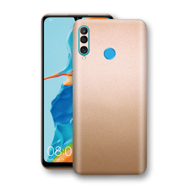 Huawei P30 LITE Luxuria Rose Gold Metallic Skin Wrap Decal Protector | EasySkinz