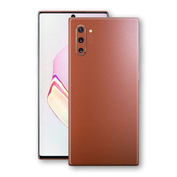 Samsung Galaxy NOTE 10 Rose Gold Matt Metallic Skin, Decal, Wrap, Protector, Cover by EasySkinz | EasySkinz.com