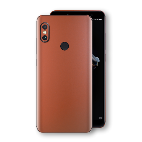 XIAOMI Redmi NOTE 5 Rose Gold Matt Metallic Skin, Decal, Wrap, Protector, Cover by EasySkinz | EasySkinz.com