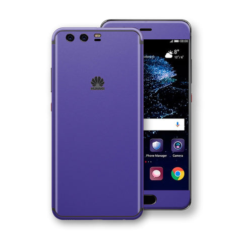 Huawei P10  Royal Purple Matt Skin, Decal, Wrap, Protector, Cover by EasySkinz | EasySkinz.com