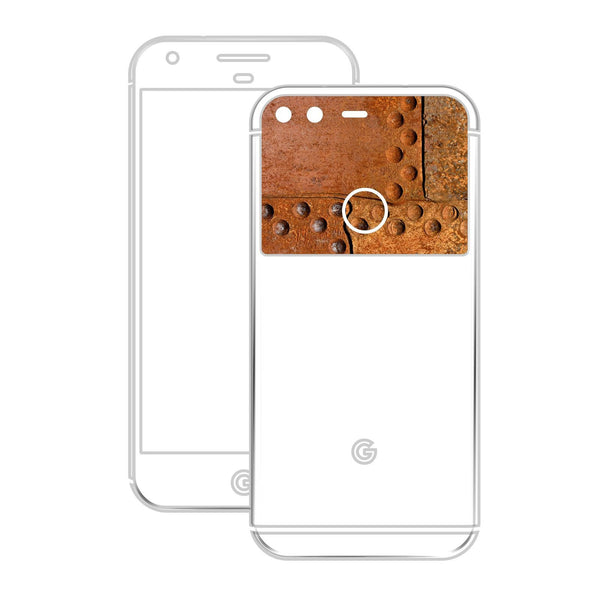 Google Pixel XL GLOSSY FIERY ORANGE TUNING Metallic Skin