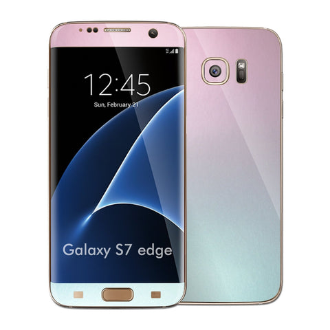 Samsung Galaxy S7 EDGE Chameleon Amethyst Matt Metallic Skin Wrap Decal Cover by EASYSKINZ