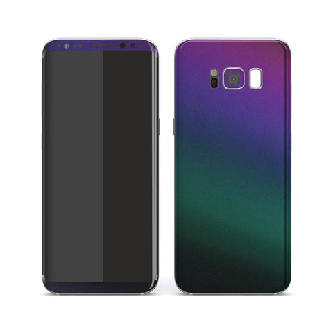 Samsung Galaxy S8 Chameleon DARK OPAL Colour-Changing Skin, Decal, Wrap, Protector, Cover by EasySkinz | EasySkinz.com