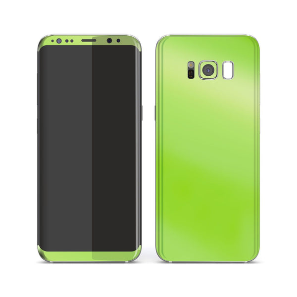 Samsung Galaxy S8+ Apple Green Pearl Gloss Finish Skin, Decal, Wrap, Protector, Cover by EasySkinz | EasySkinz.com