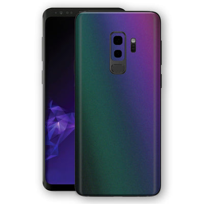 Samsung GALAXY S9+ PLUS DARK OPAL Colour-Changing Skin, Decal, Wrap, Protector, Cover by EasySkinz | EasySkinz.com