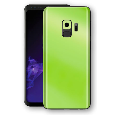 Samsung GALAXY S9 Apple Green Pearl Gloss Finish Skin, Decal, Wrap, Protector, Cover by EasySkinz | EasySkinz.com