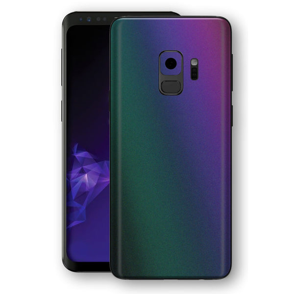 Samsung GALAXY S9 Chameleon DARK OPAL Colour-Changing Skin, Decal, Wrap, Protector, Cover by EasySkinz | EasySkinz.com