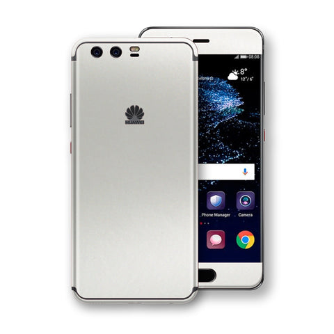 Huawei P10  Satin Pearl White Matt Skin, Decal, Wrap, Protector, Cover by EasySkinz | EasySkinz.com