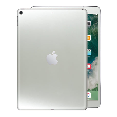 iPad 9.7 inch 2017 Matt Matte 3M SATIN PEARL WHITE Skin Wrap Sticker Decal Cover Protector by EasySkinz
