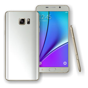 Samsung Galaxy NOTE 5 3M White Satin Pearl Matt Skin Wrap Decal Cover Protector By EasySkinz