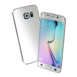 Samsung Galaxy S6 EDGE 3M Satin White Pearl Skin Wrap Sticker Cover Protector Decal by EasySkinz