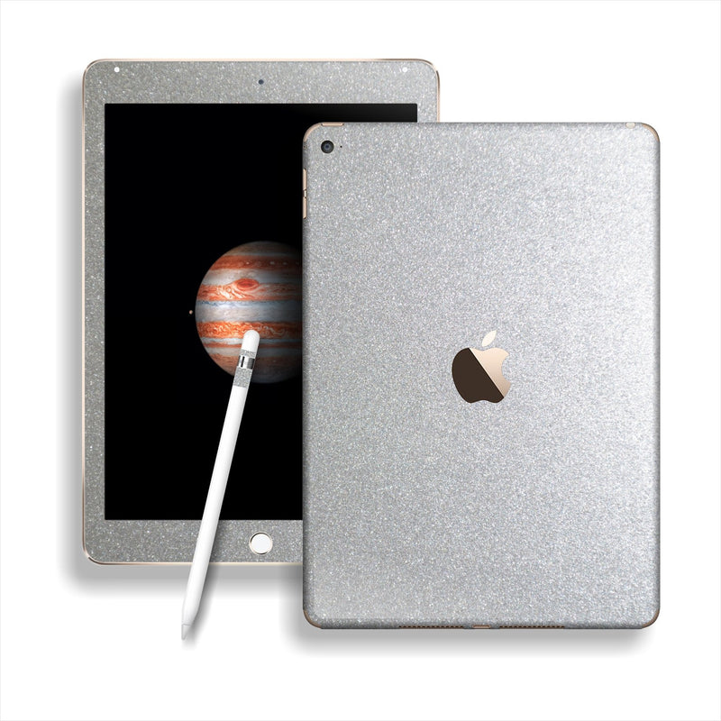 iPad PRO Glossy SILVER Metallic Skin Wrap Sticker Decal Cover Protector by EasySkinz