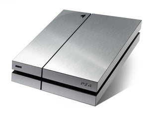 playstation 4 silver skin