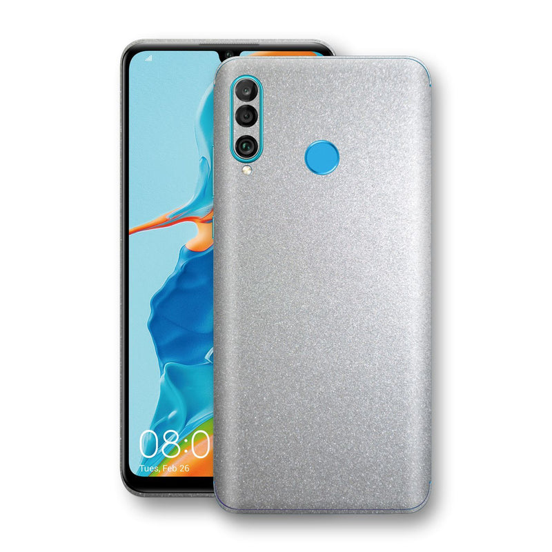 Huawei P30 LITE Silver Glossy Metallic Skin, Decal, Wrap, Protector, Cover by EasySkinz | EasySkinz.com