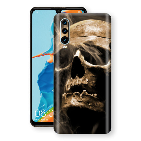 Huawei P30 Print Custom Signature Voodoo Skull Skin Wrap Decal by EasySkinz