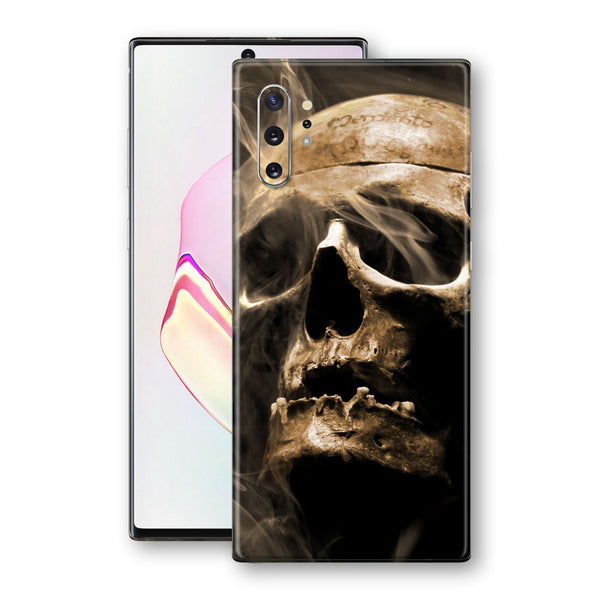 Samsung Galaxy NOTE 10+ PLUS Print Custom Signature Voodoo Skull Skin Wrap Decal by EasySkinz