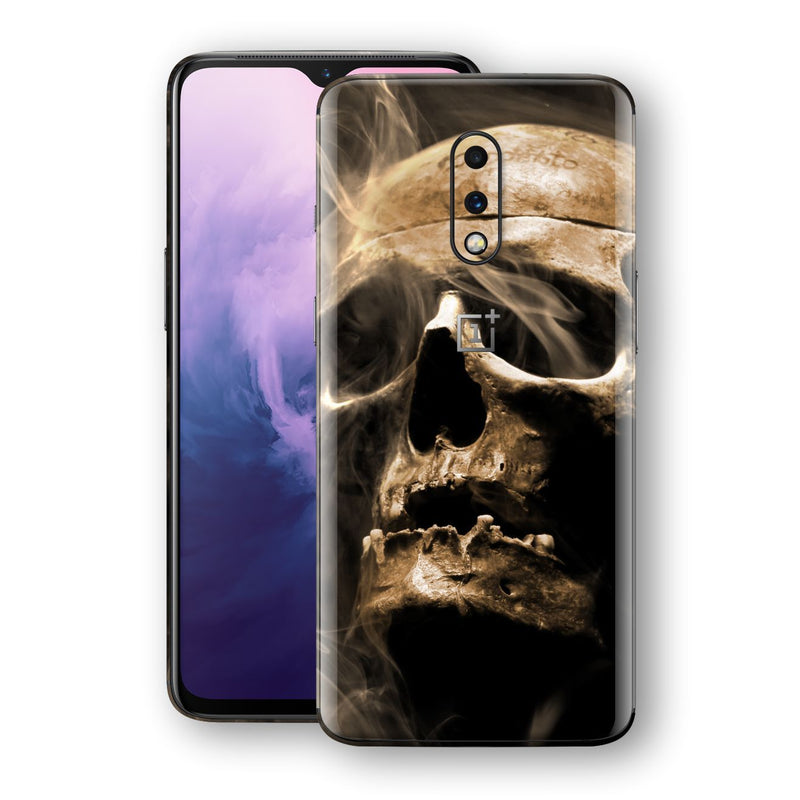 OnePlus 7 Print Custom Signature Voodoo Skull Skin Wrap Decal by EasySkinz