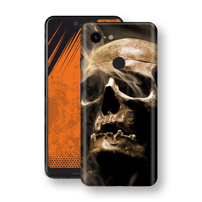 Google Pixel 3 XL Print Custom Signature Voodoo Skull Skin Wrap Decal by EasySkinz