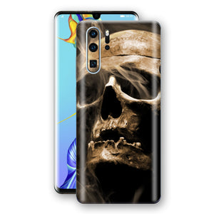 Huawei P30 PRO Print Custom Signature Voodoo Skull Skin Wrap Decal by EasySkinz
