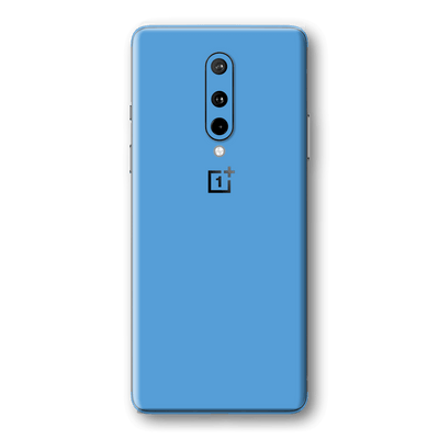 OnePlus 8 Glossy SKY BLUE Skin Wrap Sticker Decal Cover Protector by EasySkinz