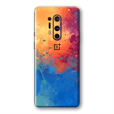 OnePlus 8 PRO Print Printed Custom SIGNATURE SUNSET Watercolour Skin Wrap Sticker Decal Cover Protector by EasySkinz