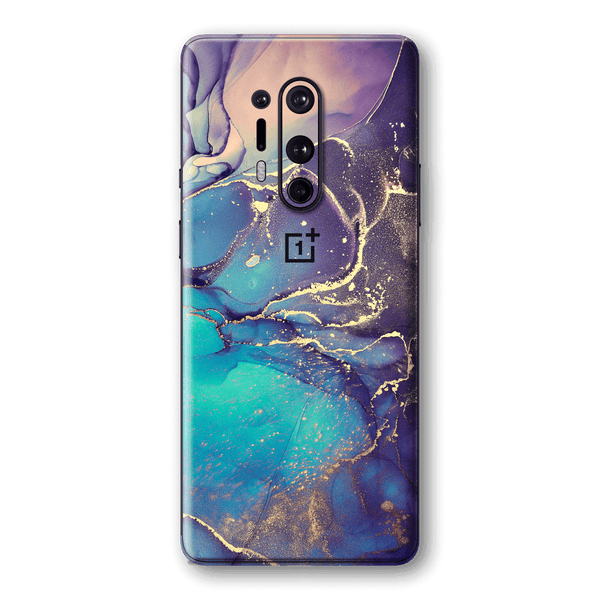 OnePlus 8 PRO SIGNATURE AGATE GEODE Aurora Skin, Wrap, Decal, Protector, Cover by EasySkinz | EasySkinz.com