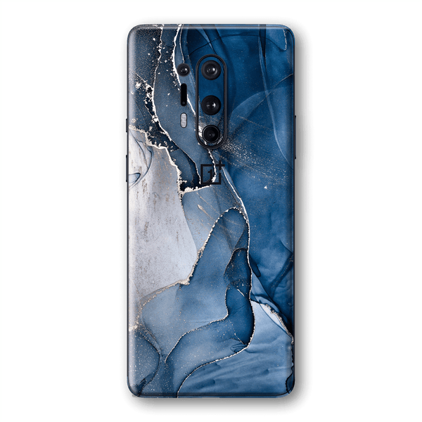 OnePlus 8 PRO SIGNATURE AGATE GEODE Dark Blue Skin, Wrap, Decal, Protector, Cover by EasySkinz | EasySkinz.com