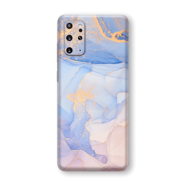 Samsung Galaxy S20+ PLUS SIGNATURE AGATE GEODE Pastel-Gold Skin, Wrap, Decal, Protector, Cover by EasySkinz | EasySkinz.com