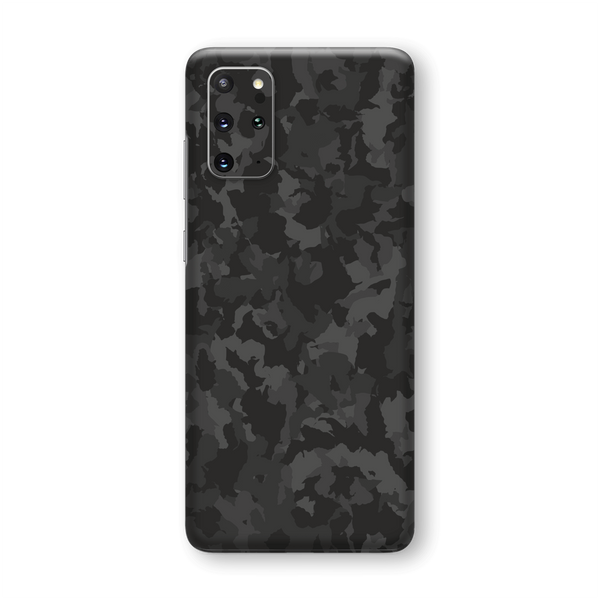 Samsung Galaxy S20+ PLUS Print Printed Custom SIGNATURE Camouflage DARK SLATE Skin Wrap Sticker Decal Cover Protector by EasySkinz