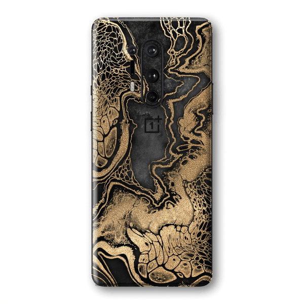 OnePlus 8 PRO SIGNATURE LIQUID GOLD Veins Skin, Wrap, Decal, Protector, Cover by EasySkinz | EasySkinz.com