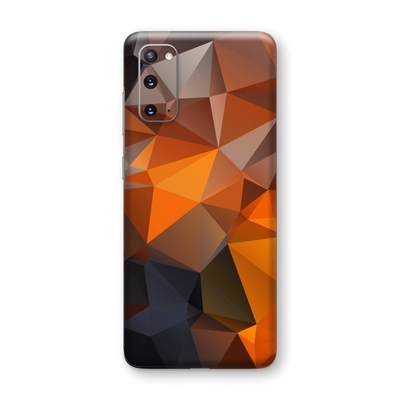 Samsung Galaxy S20 SIGNATURE Faceted TRIANGLES Skin, Wrap, Decal, Protector, Cover by EasySkinz | EasySkinz.com