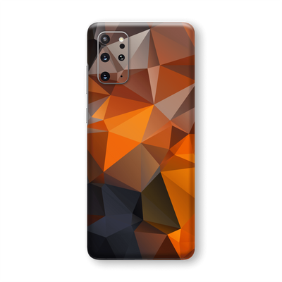 Samsung Galaxy S20+ PLUS SIGNATURE Faceted TRIANGLES Skin, Wrap, Decal, Protector, Cover by EasySkinz | EasySkinz.com