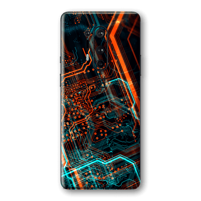 OnePlus 8 PRO Print Printed Custom SIGNATURE NEON PCB Board Skin Wrap Sticker Decal Cover Protector by EasySkinz