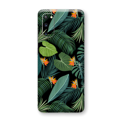 Samsung Galaxy S20 Print Printed Custom SIGNATURE JUNGLE Tropical LEAVES Skin Wrap Sticker Decal Cover Protector by EasySkinz