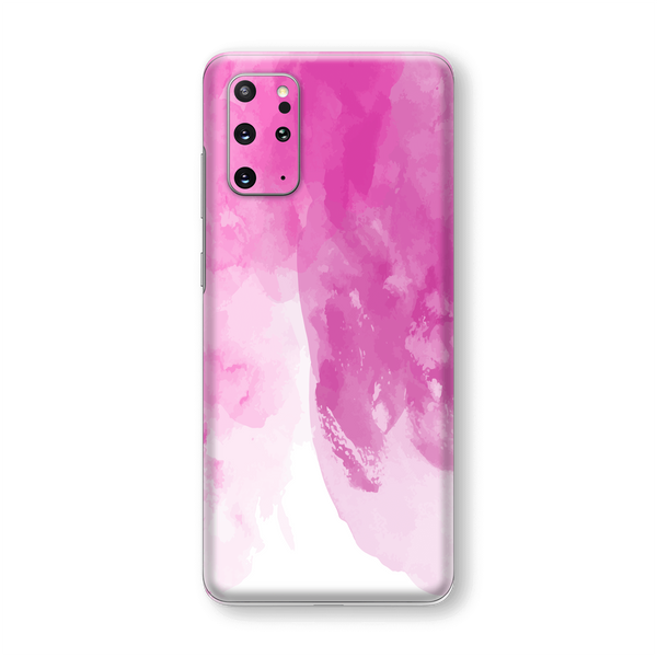 Samsung Galaxy S20+ PLUS Print Printed Custom SIGNATURE Magenta Watercolour Skin Wrap Sticker Decal Cover Protector by EasySkinz