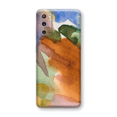 Samsung Galaxy S20 Print Custom Signature Warm Watercolour Pastel Skin Wrap Decal by EasySkinz