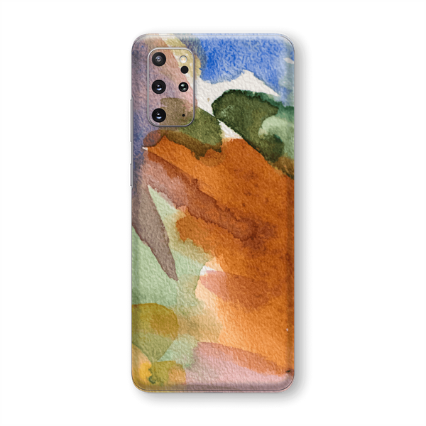 Samsung Galaxy S20+ PLUS Print Custom Signature Warm Watercolour Pastel Skin Wrap Decal by EasySkinz