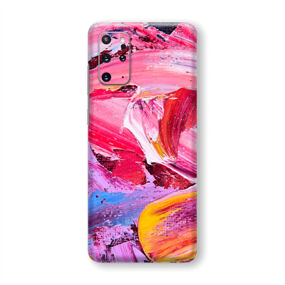 Samsung Galaxy S20+ PLUS Print Printed Custom SIGNATURE MULTICOLOURED Oil Painting Skin Wrap Sticker Decal Cover Protector by EasySkinz