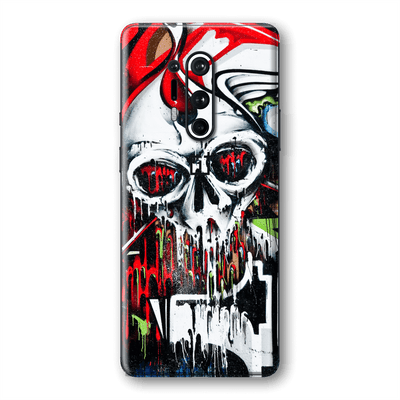 OnePlus 8 PRO Print Printed Custom SIGNATURE Graffiti Skull Skin Wrap Sticker Decal Cover Protector by EasySkinz
