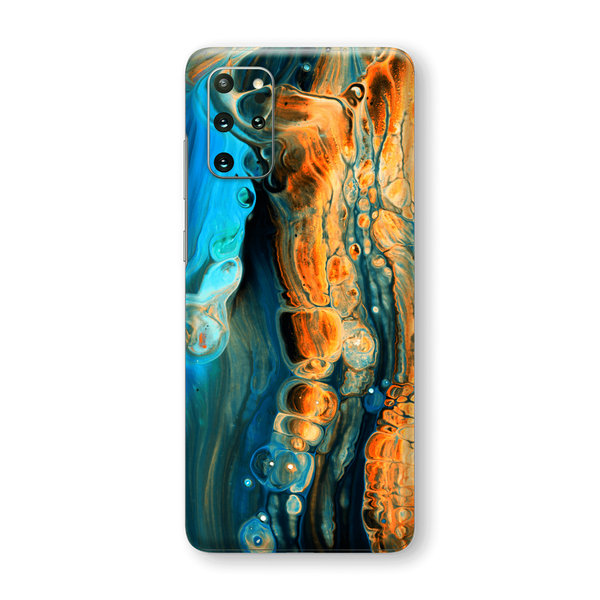 Samsung Galaxy S20+ PLUS Print Printed SIGNATURE Alcohol Ink Art Skin, Wrap, Decal, Protector, Cover by EasySkinz | EasySkinz.com