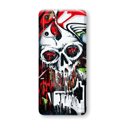 Samsung Galaxy S20+ PLUS Print Printed Custom SIGNATURE Graffiti Skull Skin Wrap Sticker Decal Cover Protector by EasySkinz